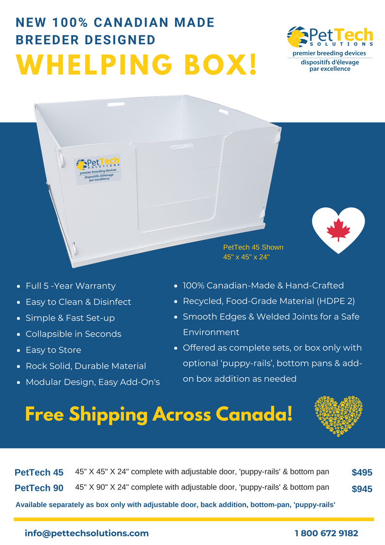 whelping-box-canada-brochure-front